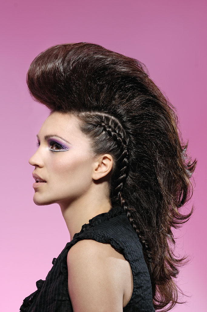 hair dos for thick hair