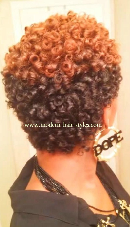 Hair Perm Rods On Natural Black Hairstyles | newhairstylesformen2014 ...
