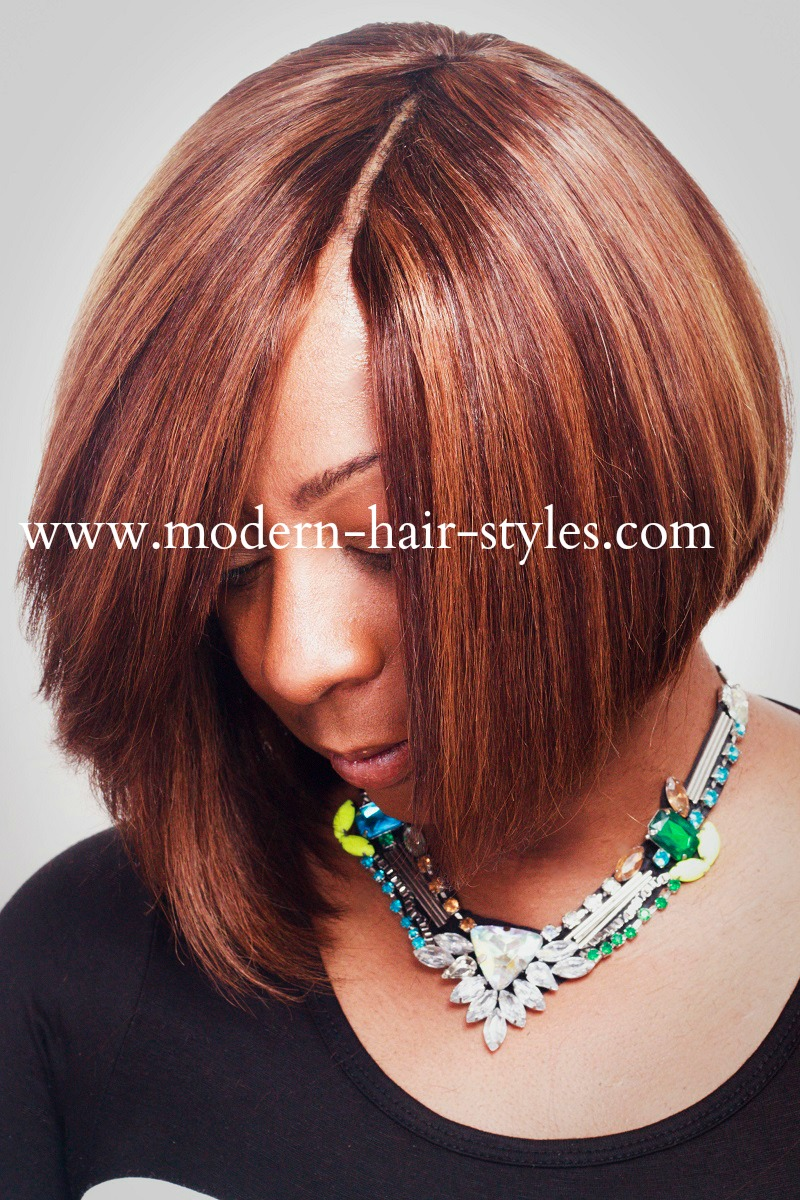 Invisible Part Quick Weave Bob Hair Styles
