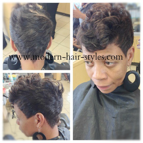 Black Hairstyles For Short Hair Pictures And Quick Weaves