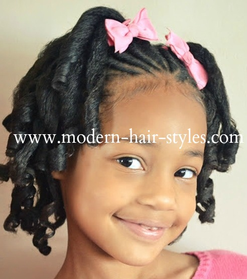 Straw Curls Cute Girl Hairstyles - Hairstyles By Unixcode