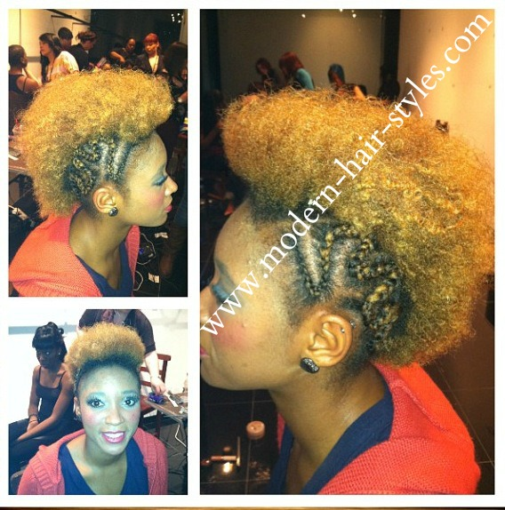 Black Natural Hair Styles For Transitioning And Protective Styling