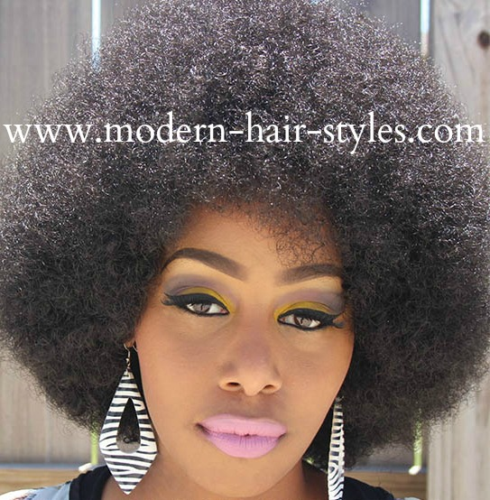 Short Hair Black natural hair styles, for transitioning and protective