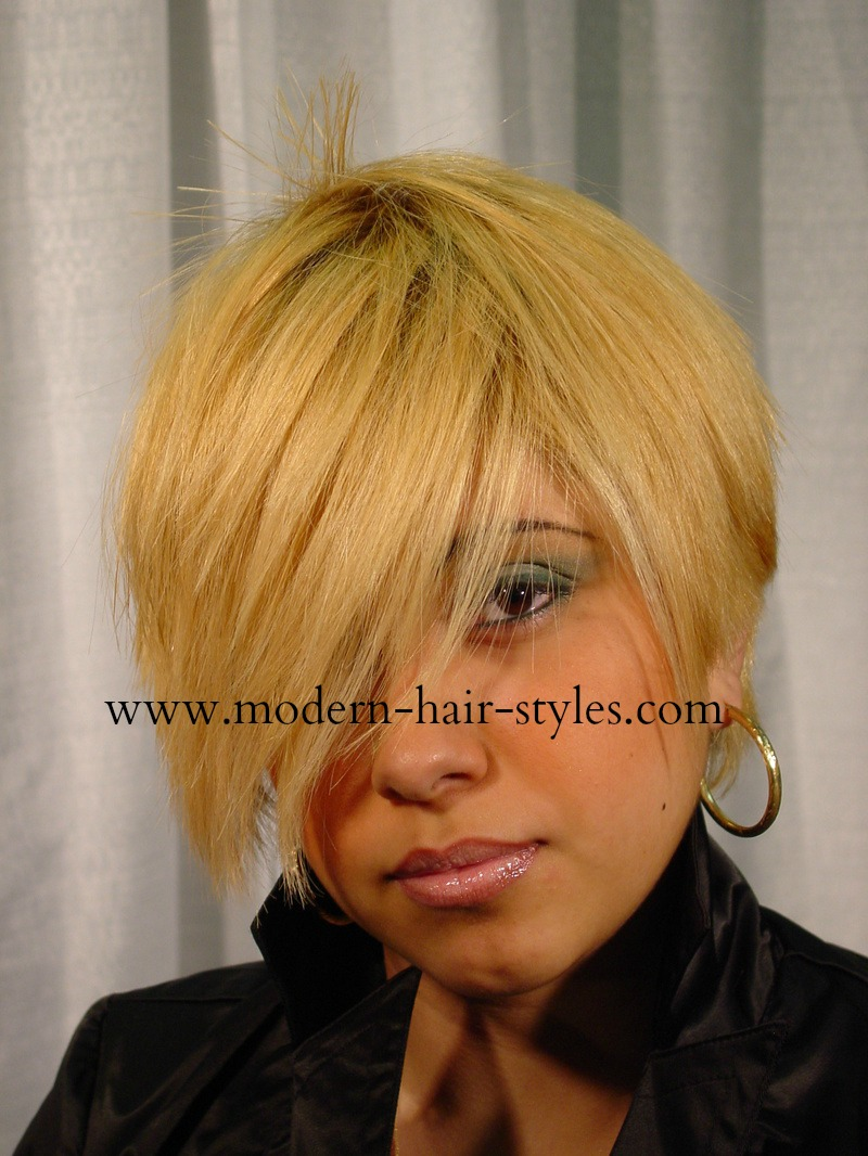 Although you can complete this look with the service of a cut, color ...
