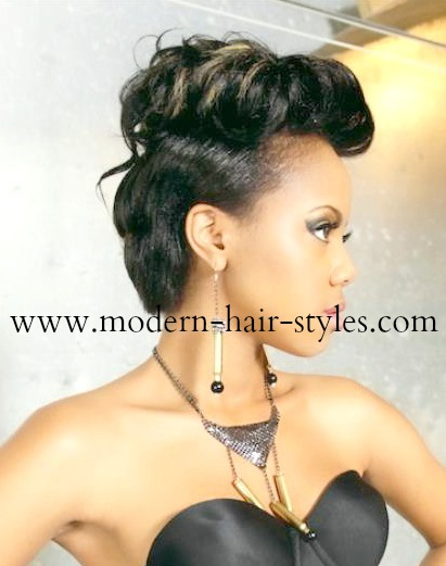 Black Women Hair Styles Of Bobs Pixies 27 Piece Weaves Mohawks