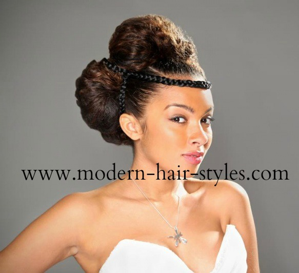 Black Wedding Hair Ideas, for Relaxed and Natural Women
