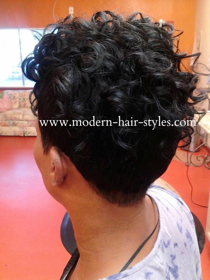 Marvelous Black Women Hair Styles Of Bobs Pixies 27 Piece Weaves Mohawks Short Hairstyles Gunalazisus