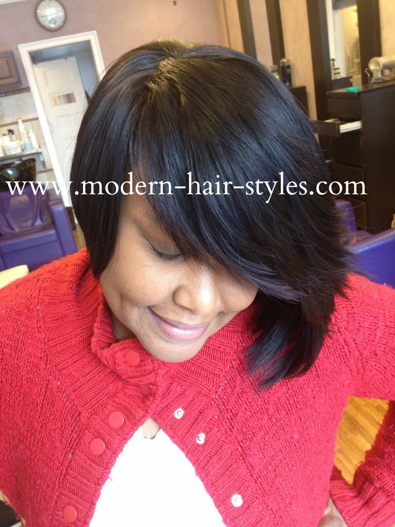 Quick Weave Bob Hairstyles for Black Women