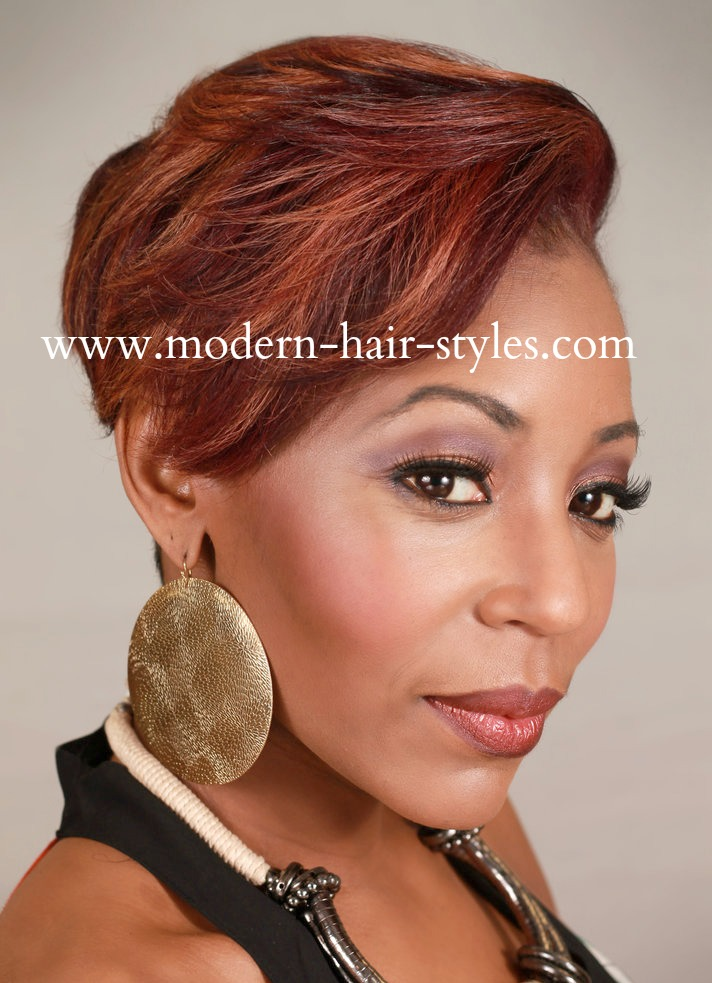 Super Black Women Hair Styles Of Bobs Pixies 27 Piece Weaves Mohawks Hairstyle Inspiration Daily Dogsangcom