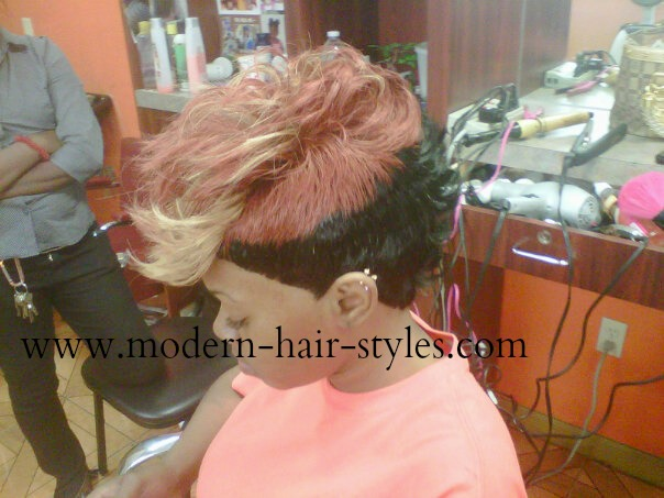 27 Pieces Hair Styles: Short Black Women Hairstyles, Of Weaves, Braids, And