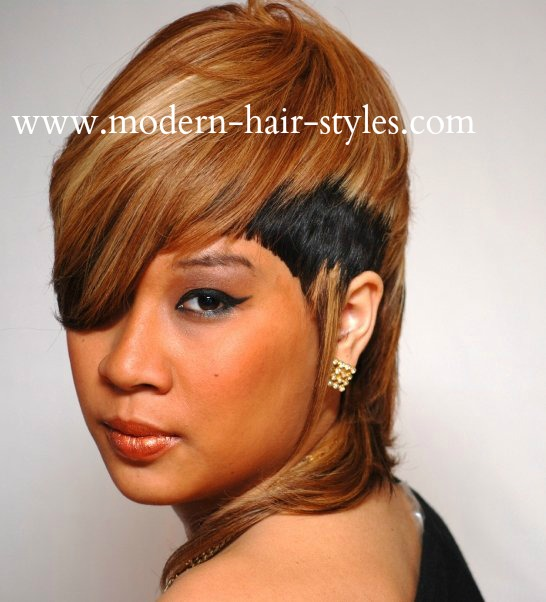 Bob Hairstyles Black Women furthermore Short 27 Piece Weave Hairstyles ...