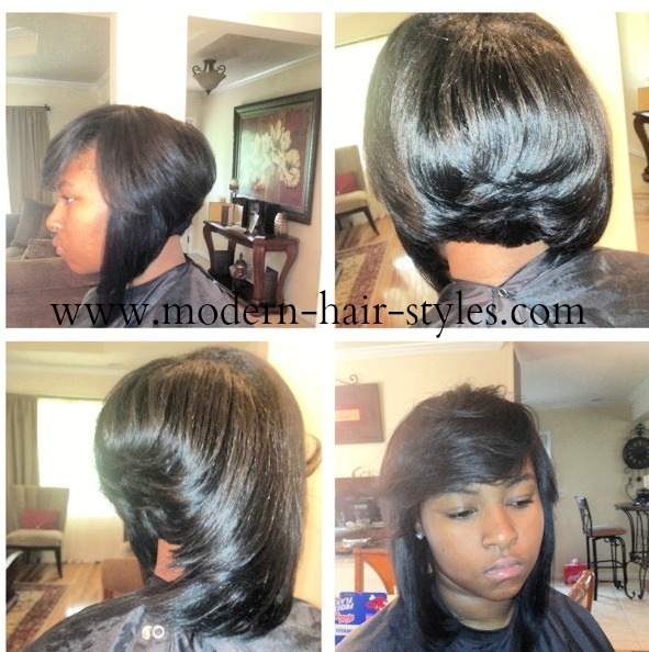 Magnificent Weave Bob Hairstyles For Black Women Picturesgratisylegal Hairstyles For Women Draintrainus