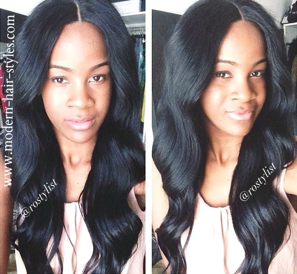 Classic Black Women Hairstyles for Both Natural and Relaxed Beauties.