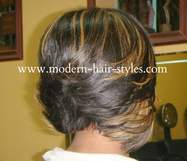 african american little girl braid hairstyles : ... Bob Weave Hairstyles likewise Sew In Feathered Bob Hairstyles