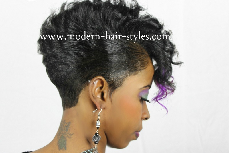 Black Women Short Hairstyles, Pixies, Quick Weaves, 27