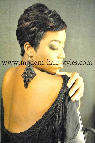 Incredible Black Women Short Hairstyles Pixies Quick Weaves 27 Piece And Short Hairstyles Gunalazisus