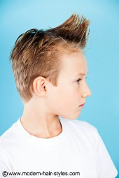 boys hair styles short