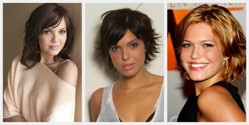 celebrity short hairstyles mandy moore short hair