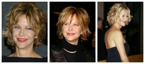 celebrity short hairstyles meg ryan short hair
