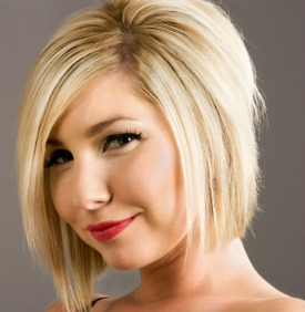 Short Hairstyles For Fat Women With Round Faces