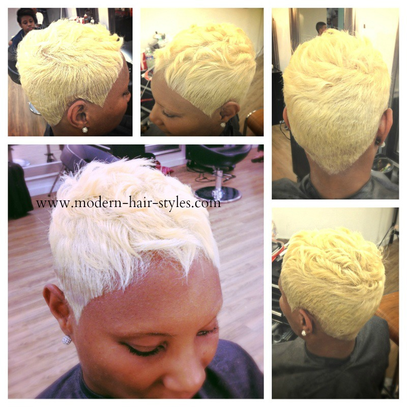 Blonde Hairstyles For Black Hair Pictures And Styling Details
