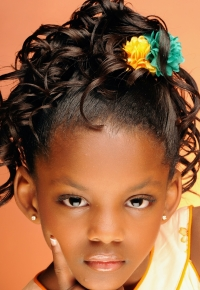 black kids hair styles