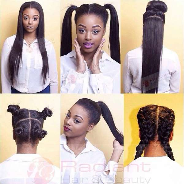 Magnificent 2016 Latest Black Hair Styles And Sew In Techniques Short Hairstyles Gunalazisus