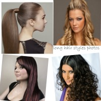 long hair styles photos