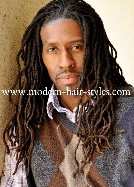 Dreadlocs is ideal for the Brotha who wants to have a look of free flowing hair.