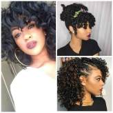Natural Hairstyles, Twists Waves, Curly and Protective styling ideas