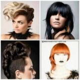 Pictures and styling details for this years new hair styles for BOTH men and women.