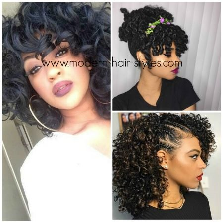 Creative Ideas for styling Natural Hair