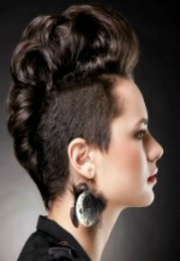 You can go from Rock and roll, to retro, and glam all in a single cut.