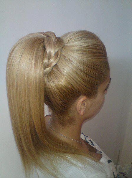 Ponytail with Beehive
