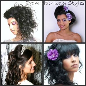 prom hair long styles