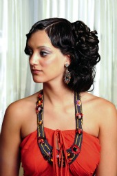 prom hairstyles for short hair 2012