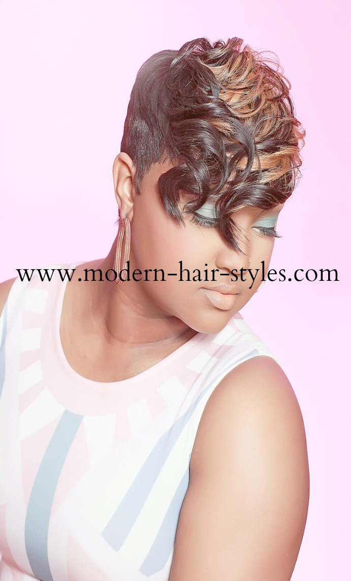 Short Hairstyles With 27 Piece Quick Weaves Pictures to pin on ...