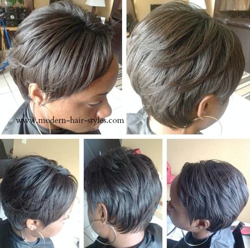 Short Black Hairstyles,Night Time Maintenance Tips, and Hummidity ...