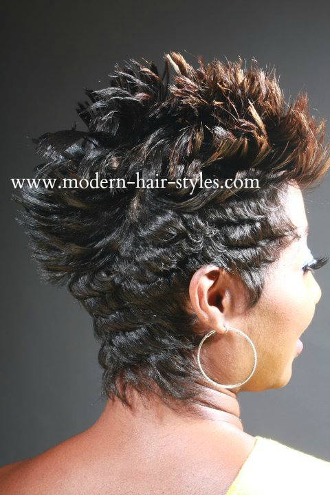 Pleasing Short Hairstyles For Black Women Self Styling Options And Short Hairstyles Gunalazisus