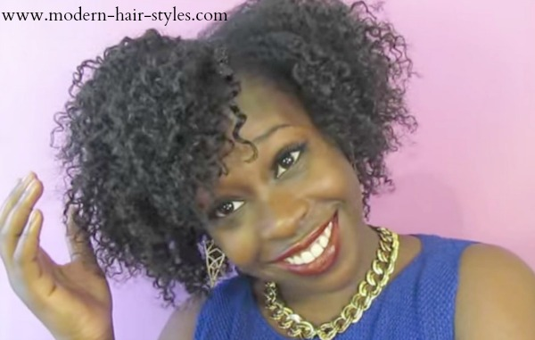 Hairstyles Out Of Style: Short Hairstyles For Black Women, Self-Styling Options