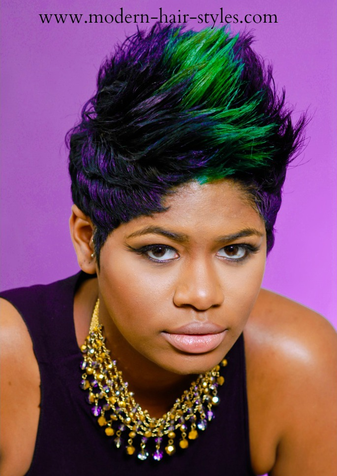 Wondrous Short Hairstyles For Black Women Self Styling Options And Hairstyle Inspiration Daily Dogsangcom