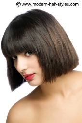 pictures of short bob hair cuts