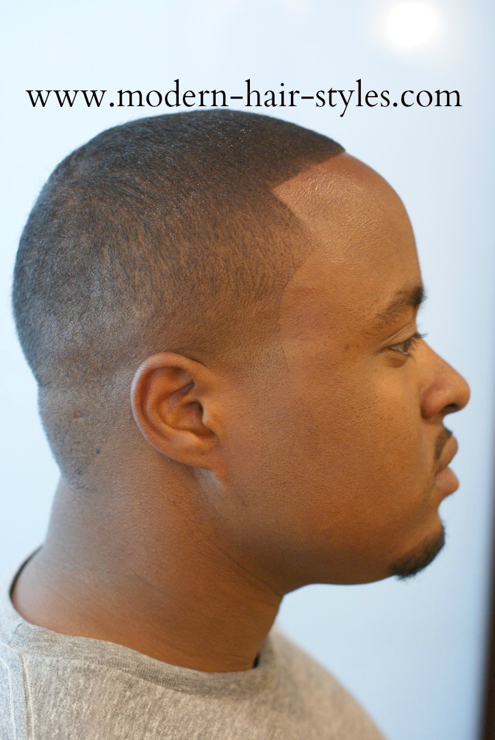 Black men hair styles low and high fades texturizers and dreads this military cut also known as a high and tight cut is popular among men in the military and is a style that is not so easy to cut yourself solutioingenieria Images