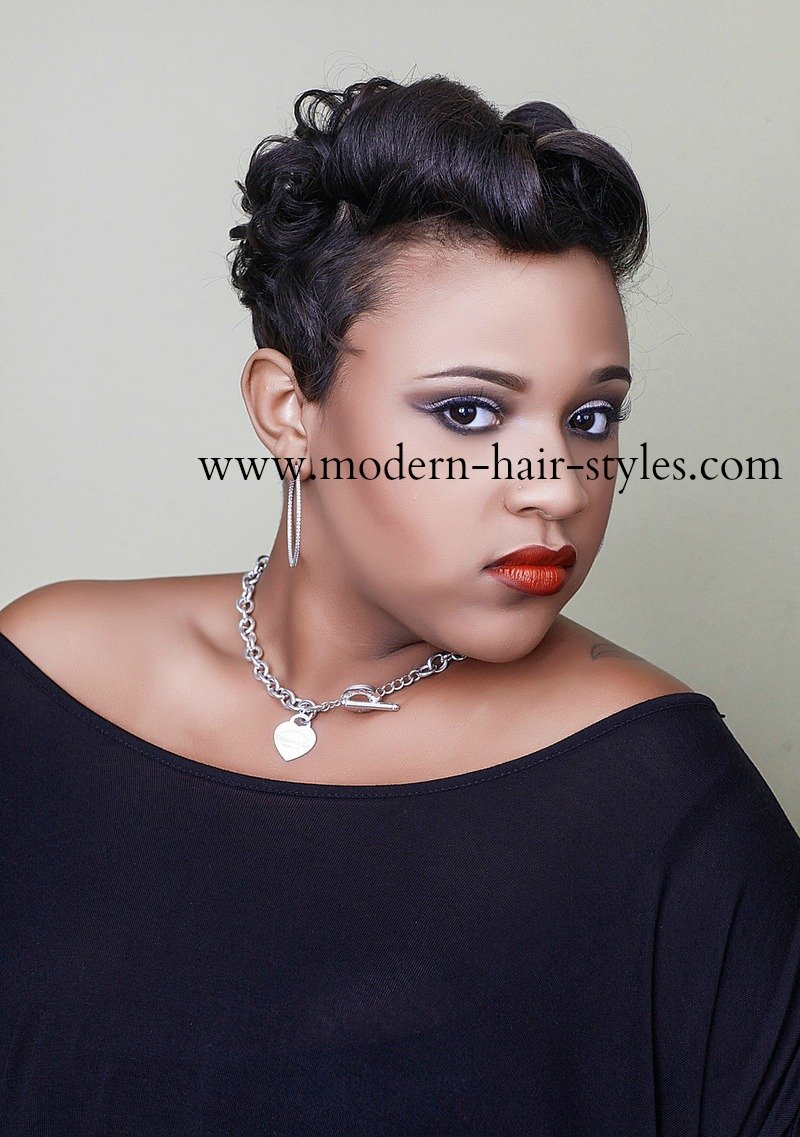 Surprising Black Short Hairstyles Pixies Quick Weaves Texturizers And More Short Hairstyles Gunalazisus