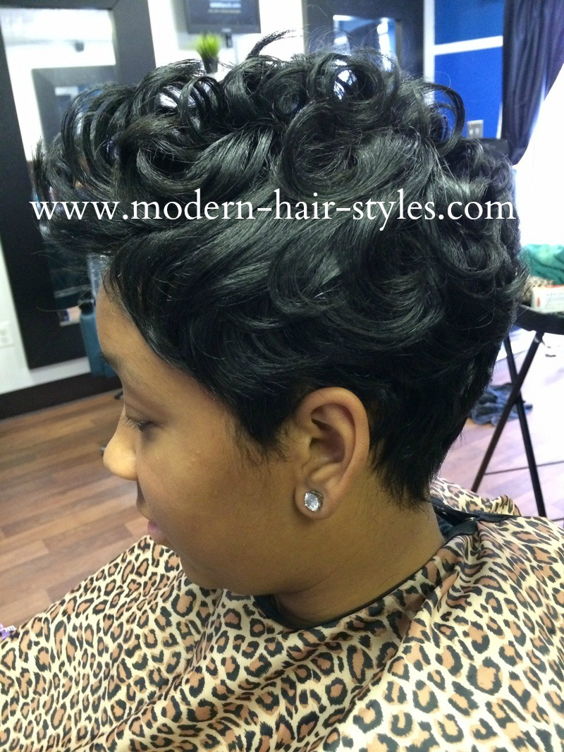 Styling Curly Hair With Bobby Pins
