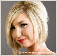 hair styles for round faces