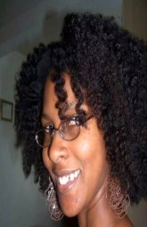 Example of what 4c type hair looks like.