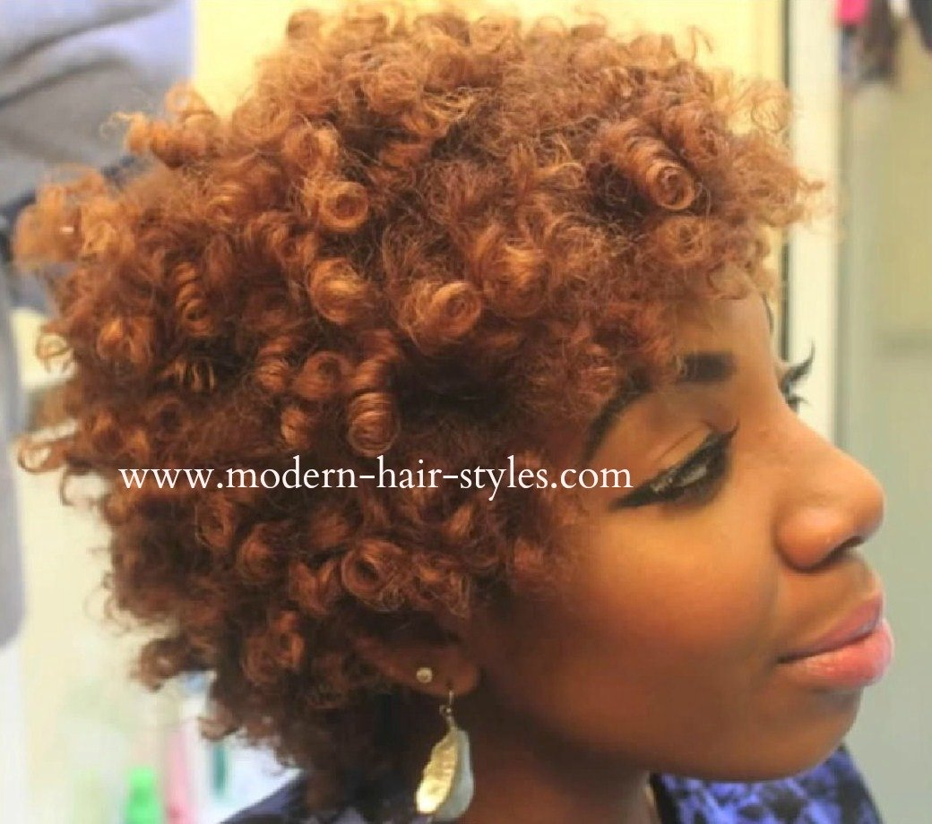 Short hairstyles for black women self styling options and perm rodsnatural hair solutioingenieria Choice Image