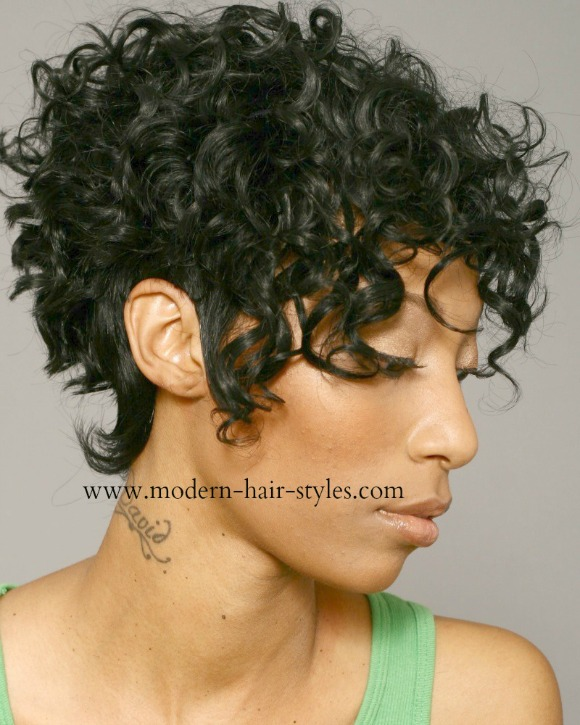 Short Hairstyles For Black Women, Self-Styling Options
