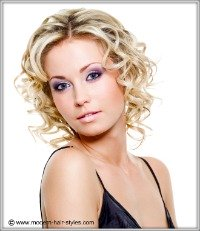short curly hair styles for fine hair